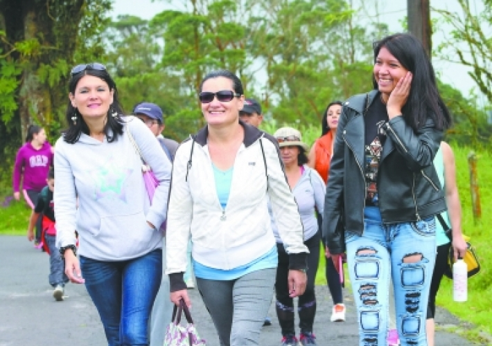 Caminatas recreativas